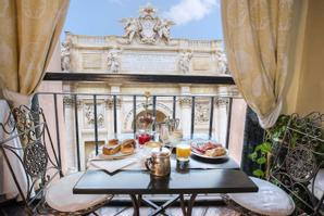 Hotel Fontana New | Rome | The Trevi Fountain just restored